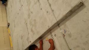 1-Divder Strip Installation